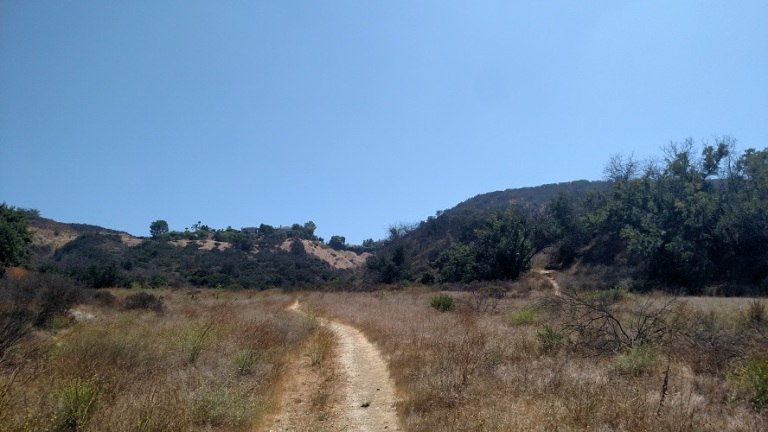 West Mulholland Trail, Santa Monica Mountains, CA