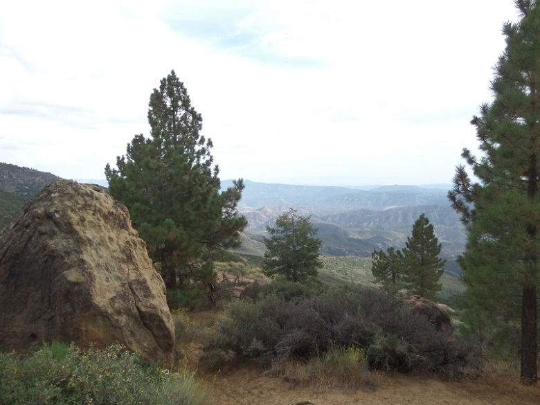 Chorro Grande Trail, Los Padres National Forest, CA