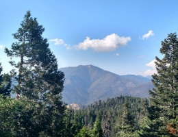 Sunday Peak from Unal Summit, Kern County, CA