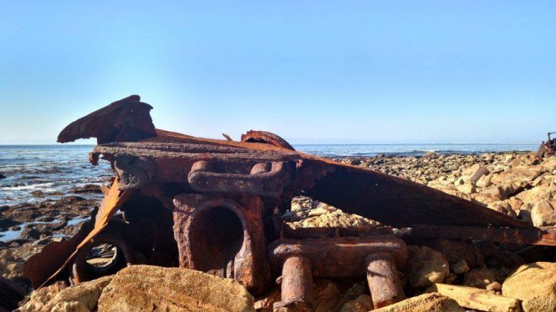 SS Dominator wreckage, Palos Verdes Peninsula, ca