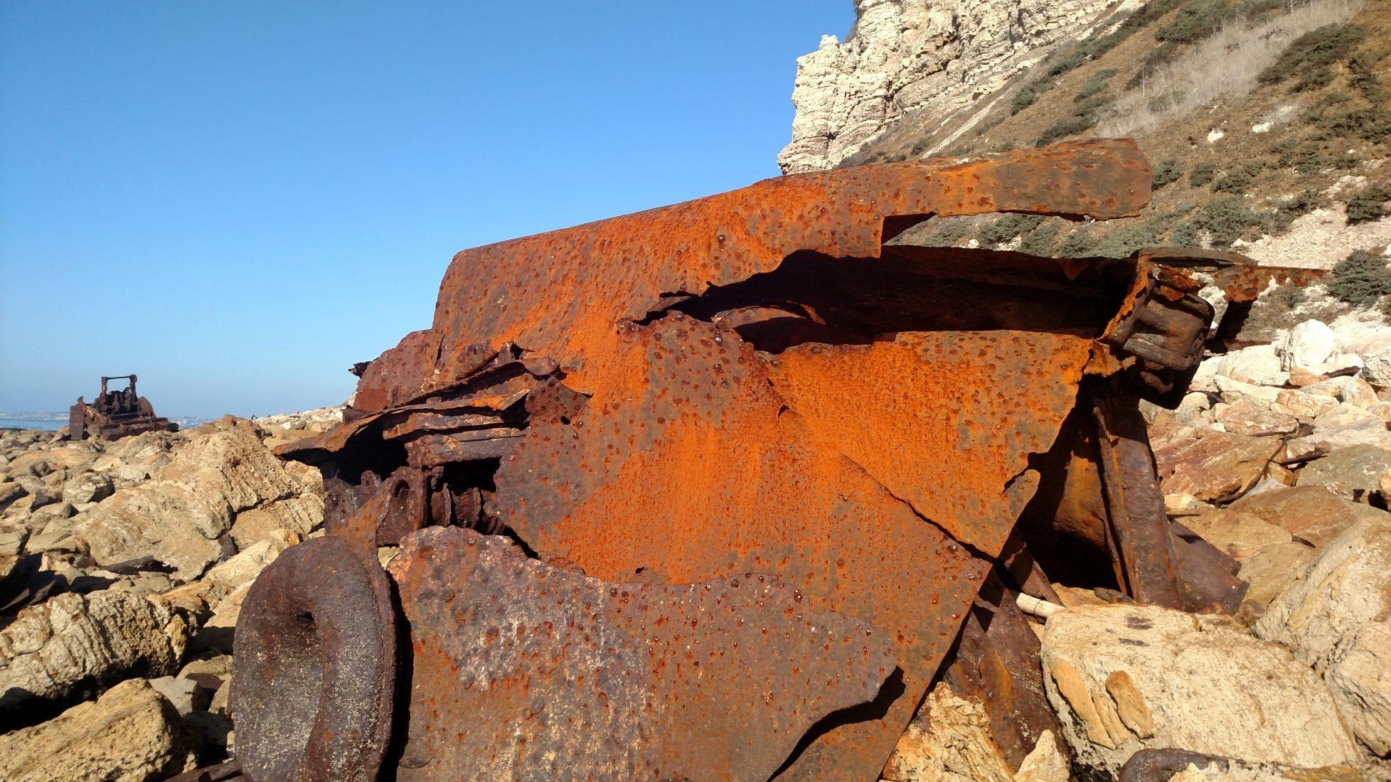 SS Dominator Shipwreck, Palos Verdes Peninsula, CA
