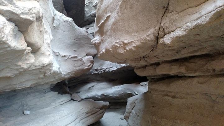 Slot canyon, Anza Borrego Desert State Park, CA