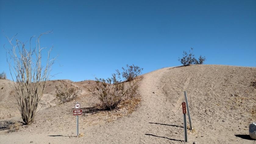Slot Canyon trail, Anza-Borrego Desert State Park