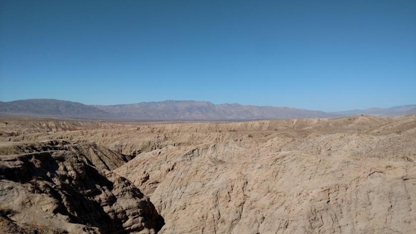 Slot canyon, Anza-Borrego Desert State Park