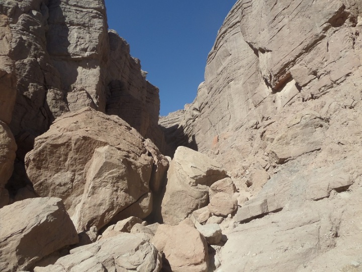 Ladder Canyon, Mecca, CA