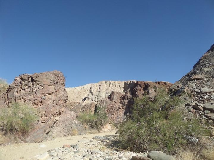 Big Painted Canyon, Mecca, CA
