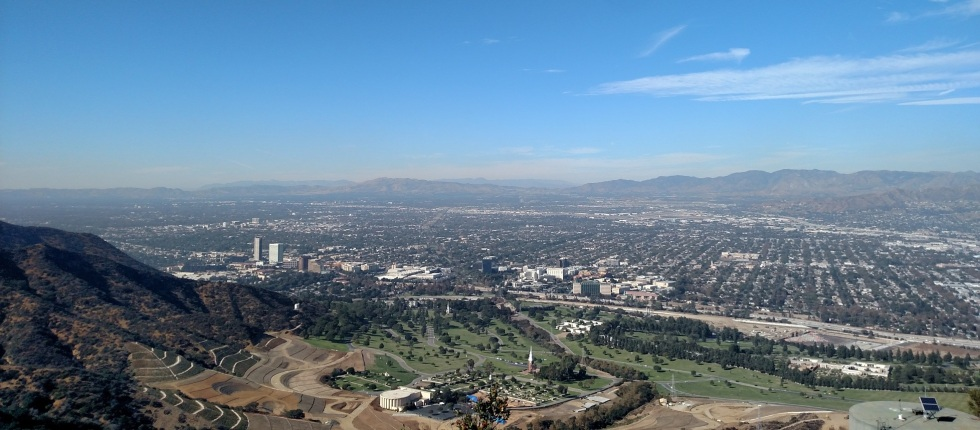 View from Mt. Chapel, Griffith Park, CA