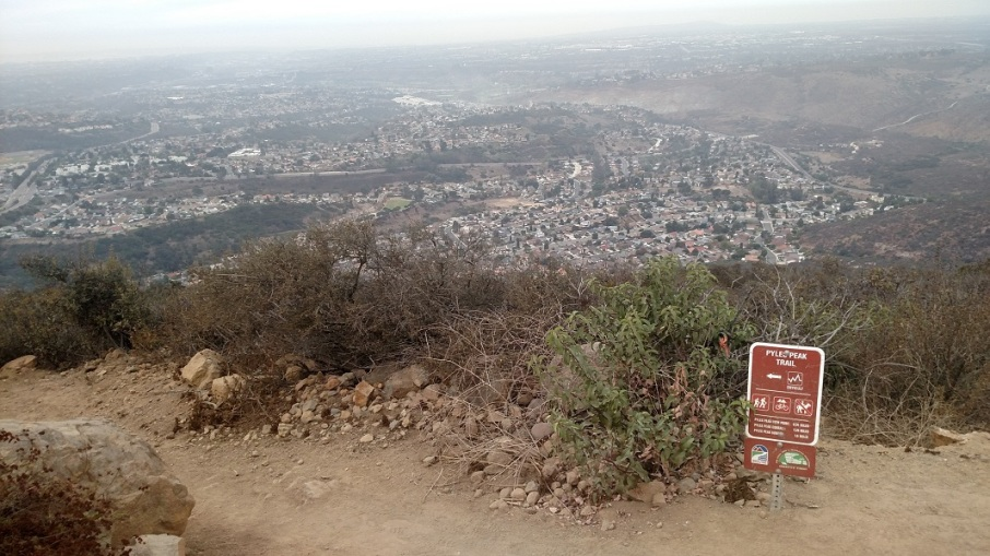 Pyles Peak Trail, Mission Trails Regional Park