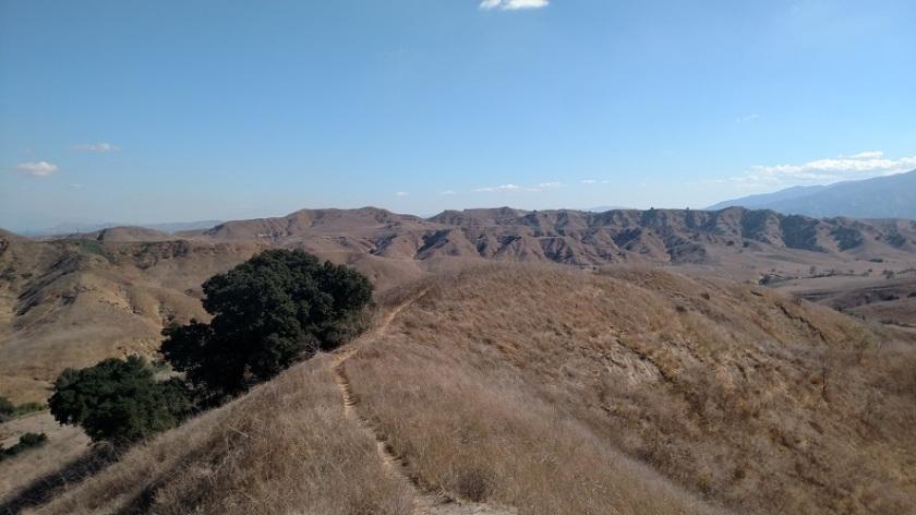Ranger Ridge Trail, Chino Hills State Park, CA
