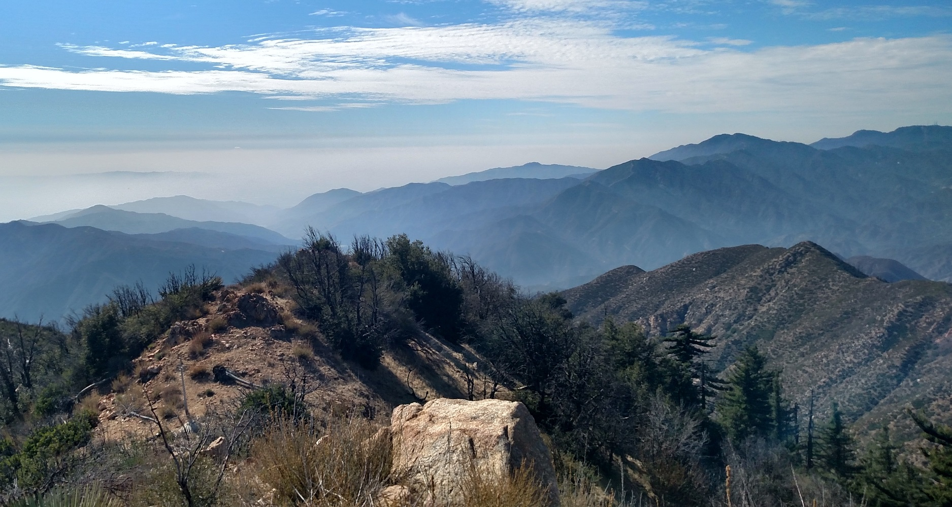 Rattlesnake Peak, Angeles National Forest, CA