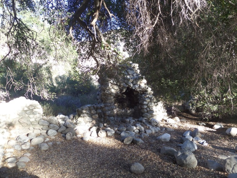 Lower Bear Creek campsite, San Gabriel Wilderness
