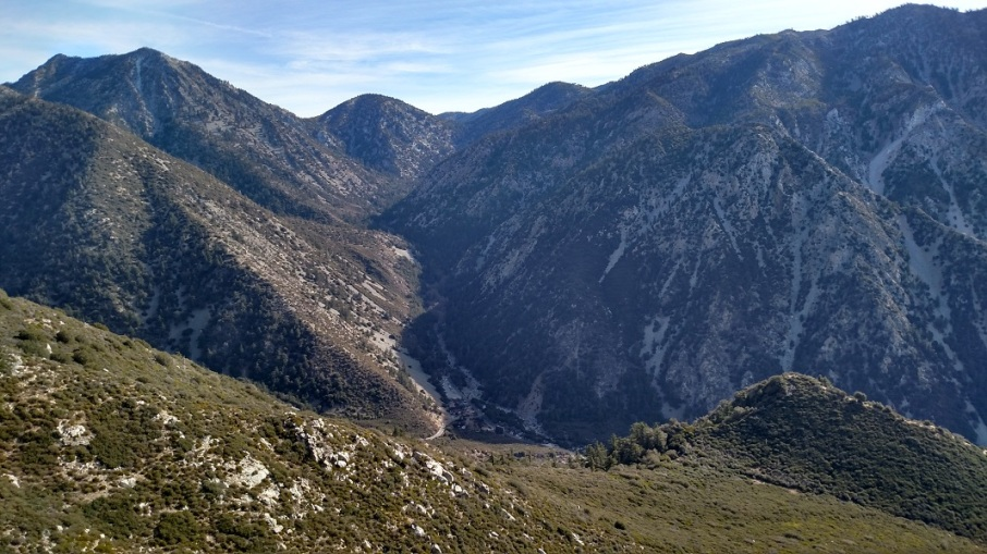 Icehouse Canyon from the Old Mt. Baldy Trail