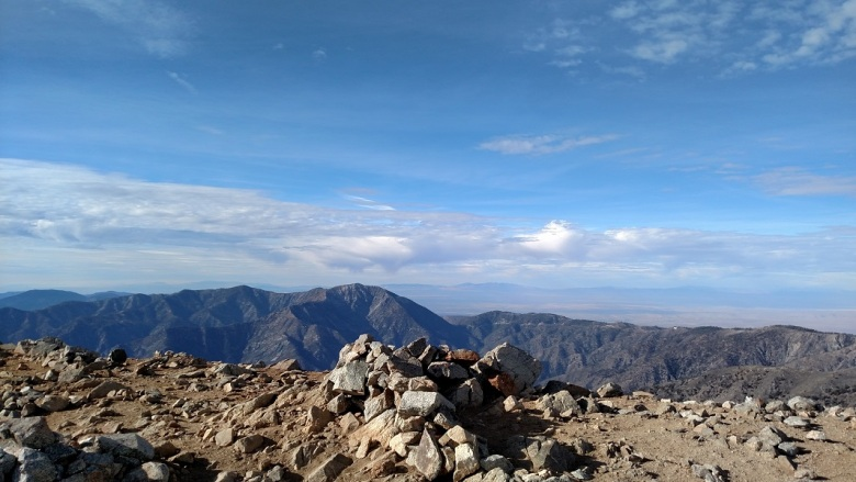 Summit of Mt. Baldy, Angeles National Forest