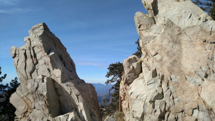 Old Mt. Baldy Trail, Three Mile Boulders
