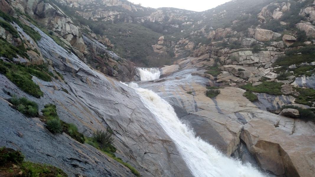 Three Sisters Falls, San Diego, CA