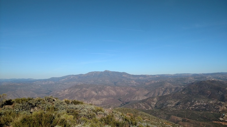 Viejas Mountain, San Diego County, CA