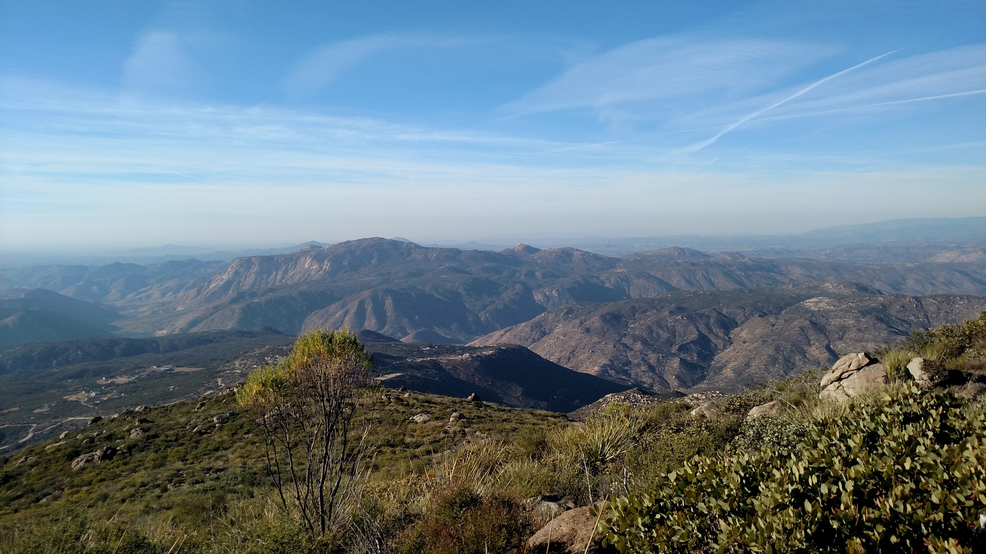 View from Viejas Mountain, Alpine, CA