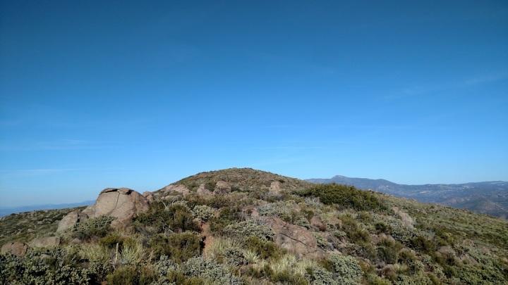 Viejas Mountain, San Diego County, CA