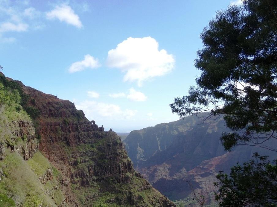 Waipo'o Falls, Kauai, Hawaii
