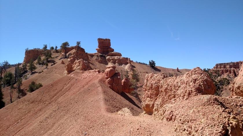 Buckhorn Point trail, Utah