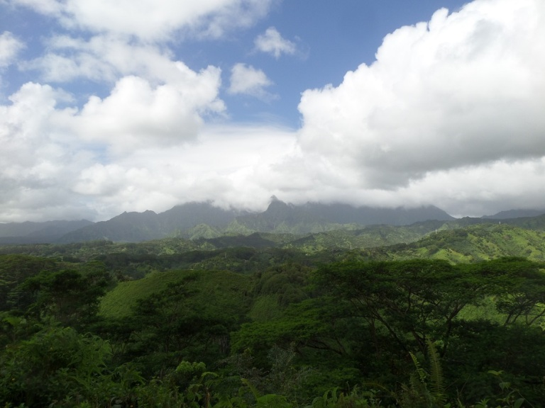 Kuilau Ridge Trail, Kauai, Hawaii