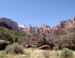 Pa'rus Trail, Zion National Park, UT