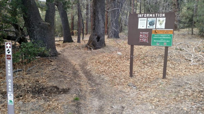 Seven Oaks Trail, Big Bear Lake