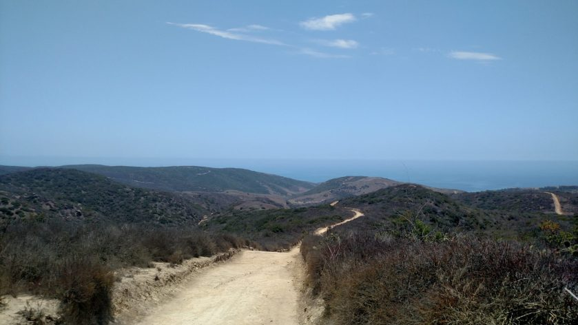 Pacific Ridge Trail, Crystal Cove State Park