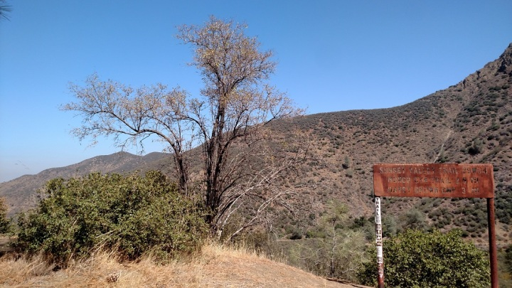 Sunset Valley Trail, Los Padres National Forest