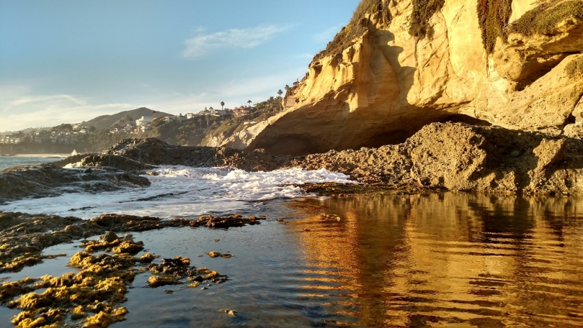 Thousand Steps Beach Sea Cave, Laguna Beach