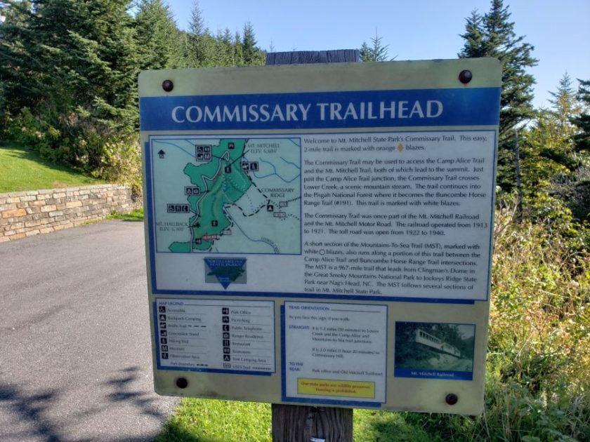 Commissary Trail, Mt. Mitchell State Park
