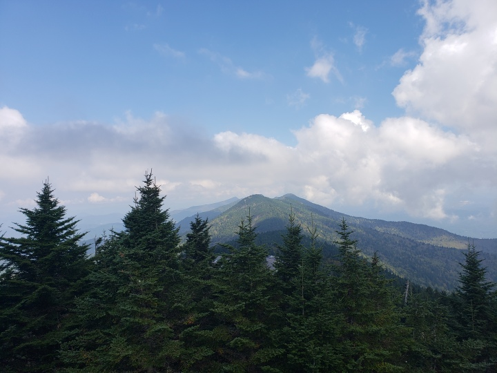 Mt. Mitchell. North Carolina