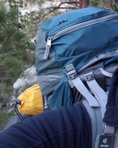 Backpacking on the Mt Whitney Trail