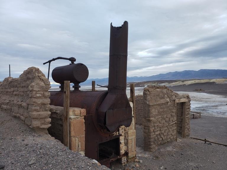 Harmony Borax Works, Death Valley, CA