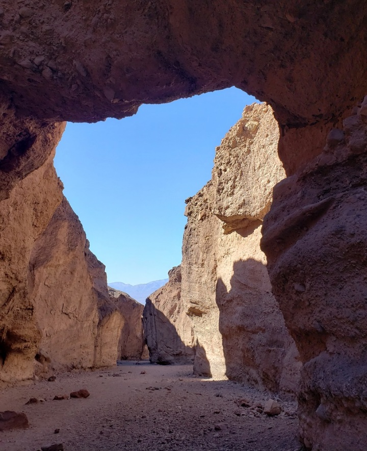 Natural Bridge Canyon, Death valley National Park