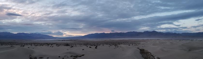 Mesquite Flat sand dunes, Death Valley